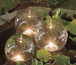 Svietiace plávajúce LED gule, 3 ks / 123360