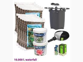 Štartovací balík pre jazierko do 10m3 s vodopádom