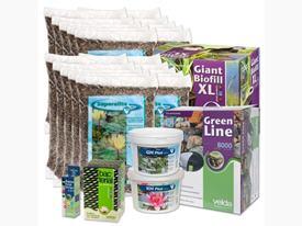 Štartovací balík pre jazierko do 20m3 s veľa rastlinami