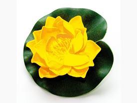 Lotus Foam Yellow 10 cm / 123633