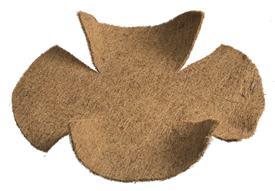 Kokosová výplň hladká pre závesné koše / 6070172