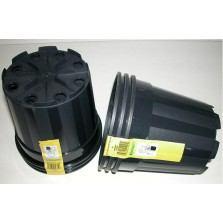 Kvetináč plast.čierny - indoor pr. 17 x 15,4 cm / 5051060
