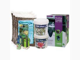 Štartovací balík pre jazierko do 3 m3 s veľa rastlinami