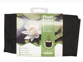 Košík/vrecko pre vodné rastliny 25 x 25 x 20 cm