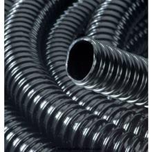 Čierna vrúbkovaná hadica 50 mm / 1353065